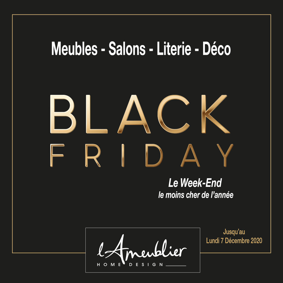Black Friday L'Ameublier