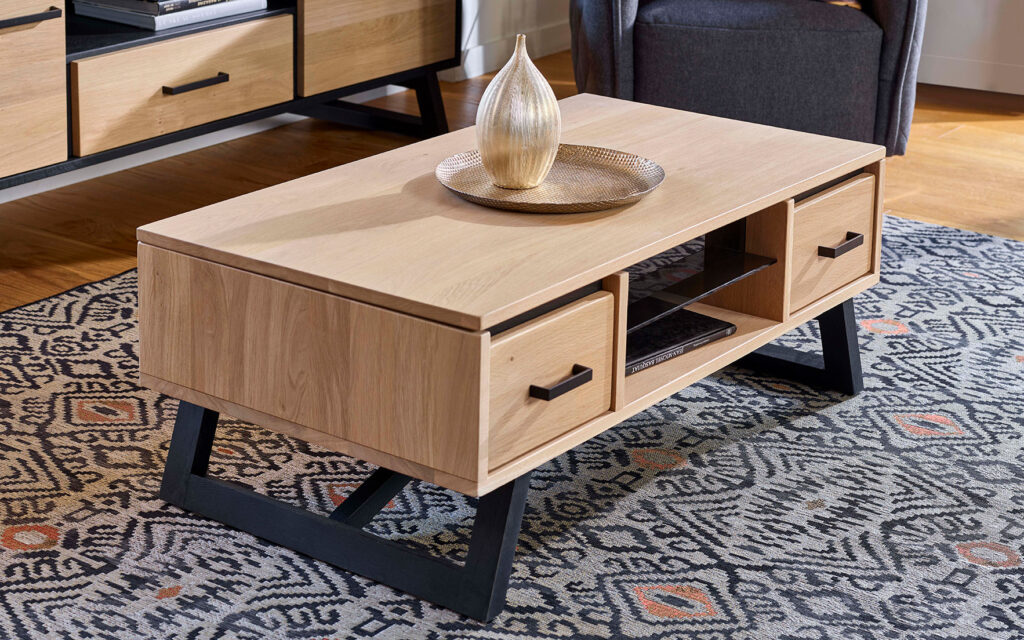 Table basse relevable NOMADE