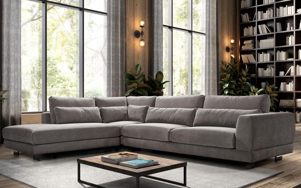 Canapé d'angle REMCO